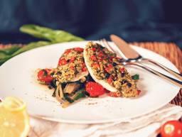 波尔多式多宝鱼配厚皮菜