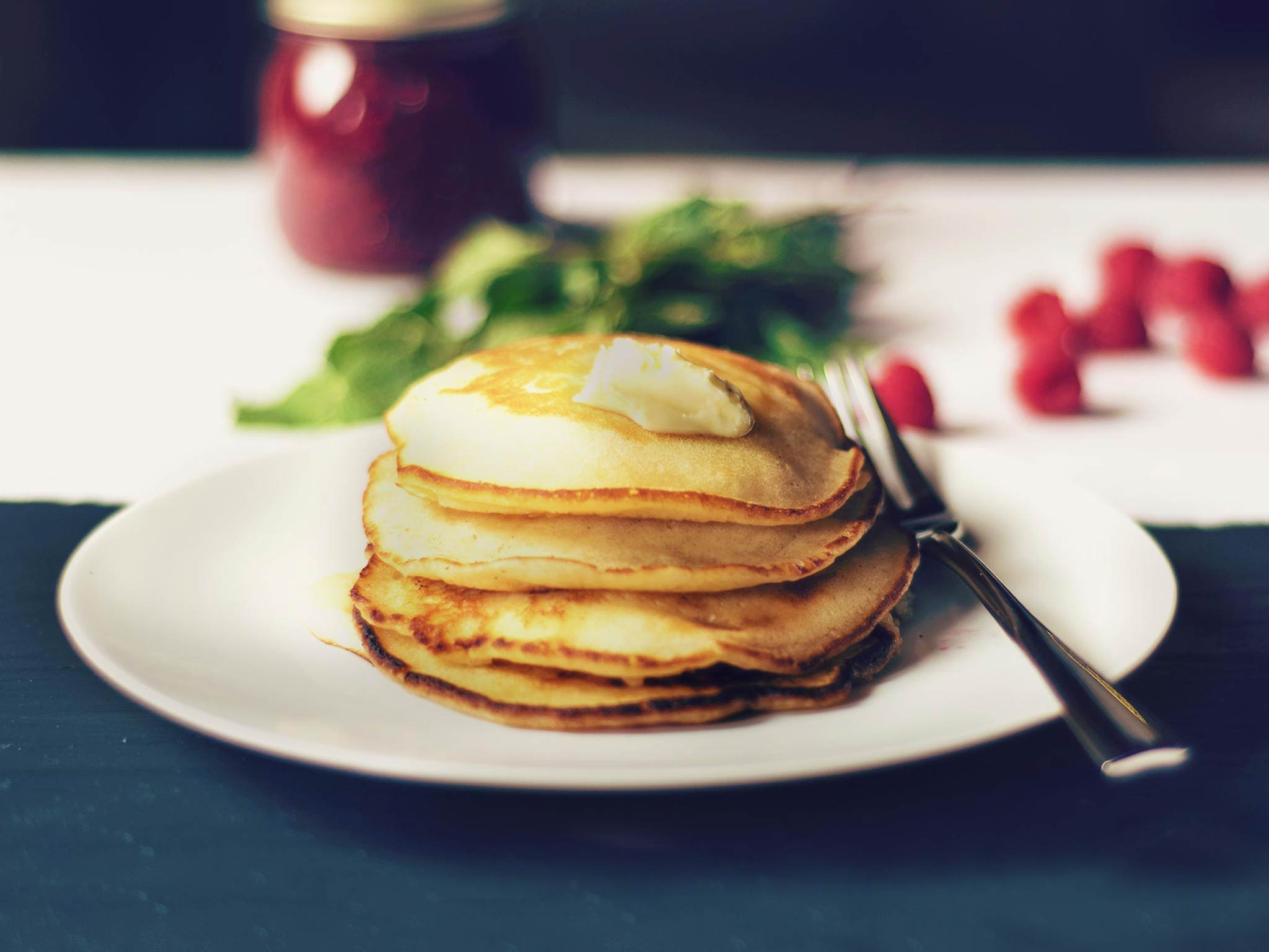 Fluffy buttermilk pancakes | Recipe with Video