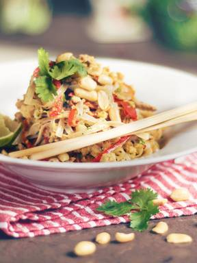 Thai-inspired fried noodles