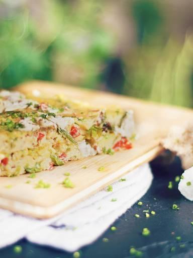 意式蔬菜奶酪烘蛋饼