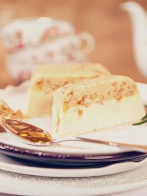 Creamy walnut parfait