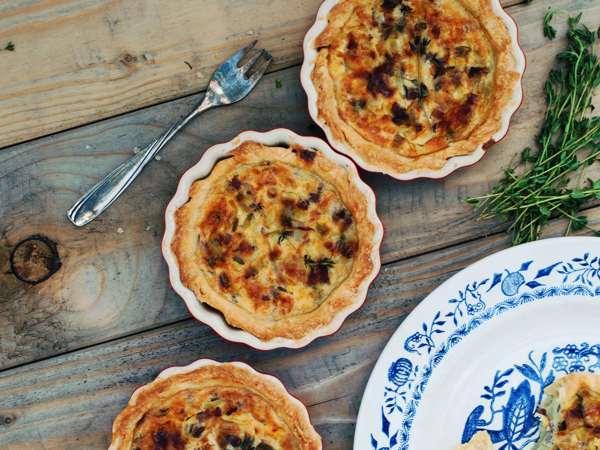 Mini Quiche Lorraine Recipe Kitchen Stories