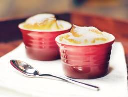 Fluffy sweet souffle