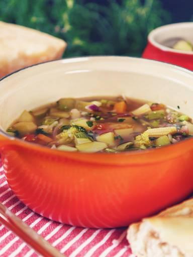 经典意式蔬菜浓汤