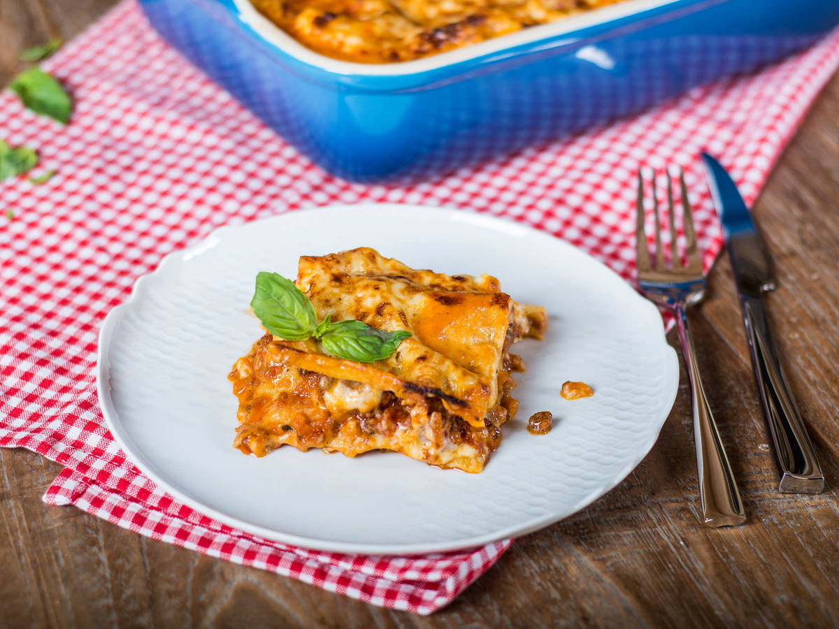 Classic italian lasagna recipe with video kitchen stories classic italian lasagna forumfinder Image collections