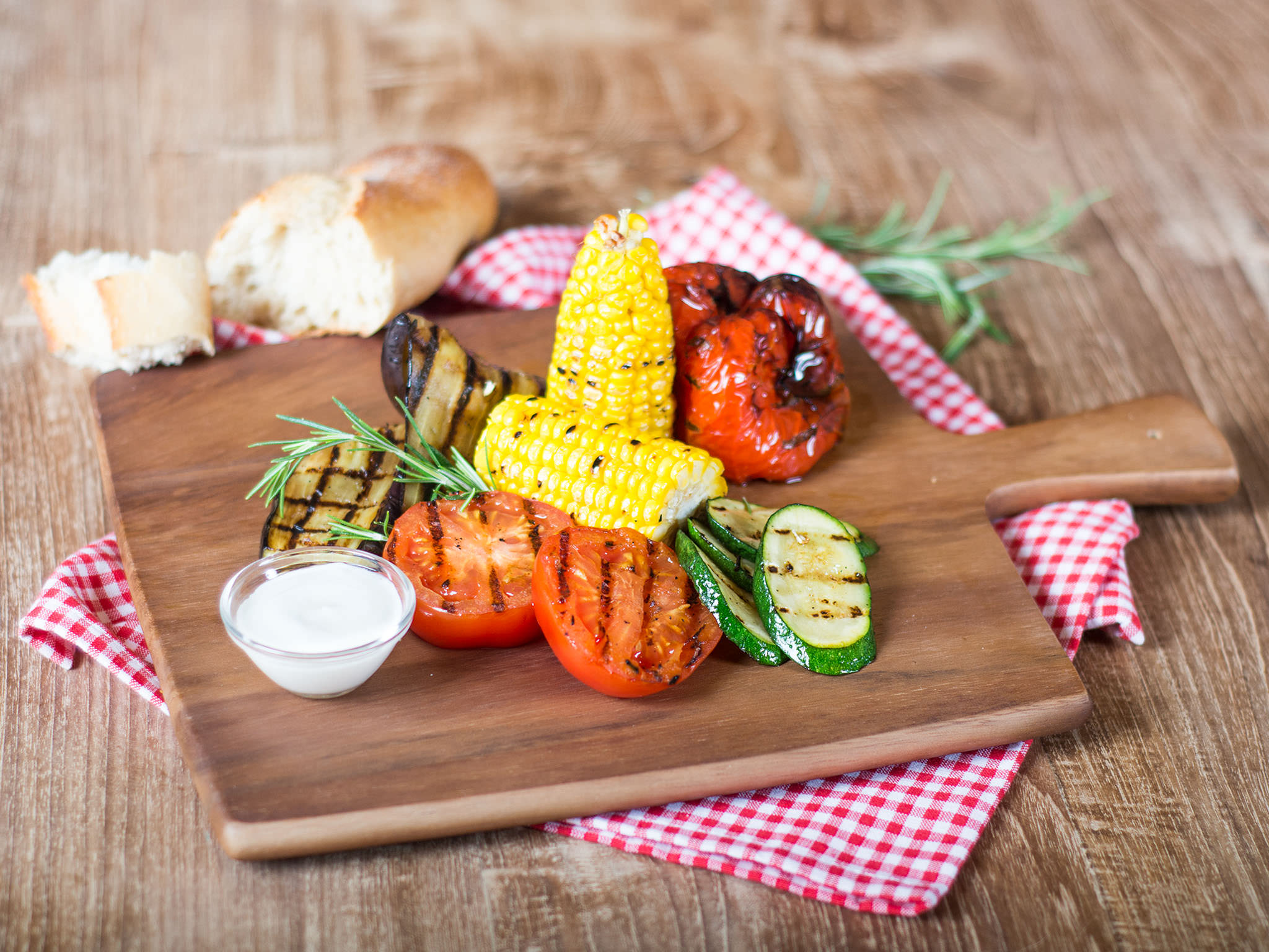 Grilled Vegetable Platter Recipe With Video Kitchen Stories