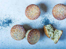 Einfache Zitronen-Mohn-Muffins