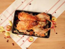Roasted juicy turkey