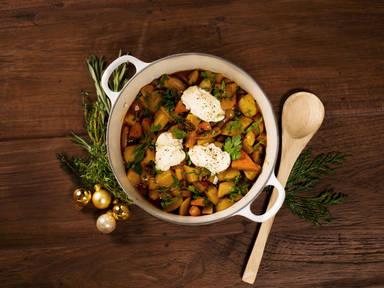 Hearty vegetarian stew