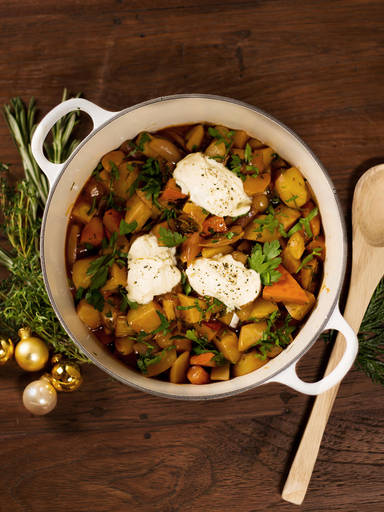 Hearty vegetarian stew