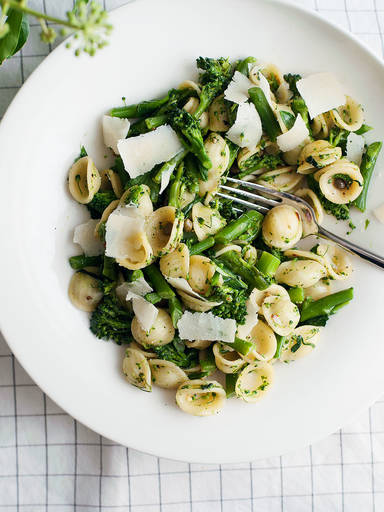 Orecchiette with rapini
