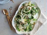 Fennel, arugula, and apple salad