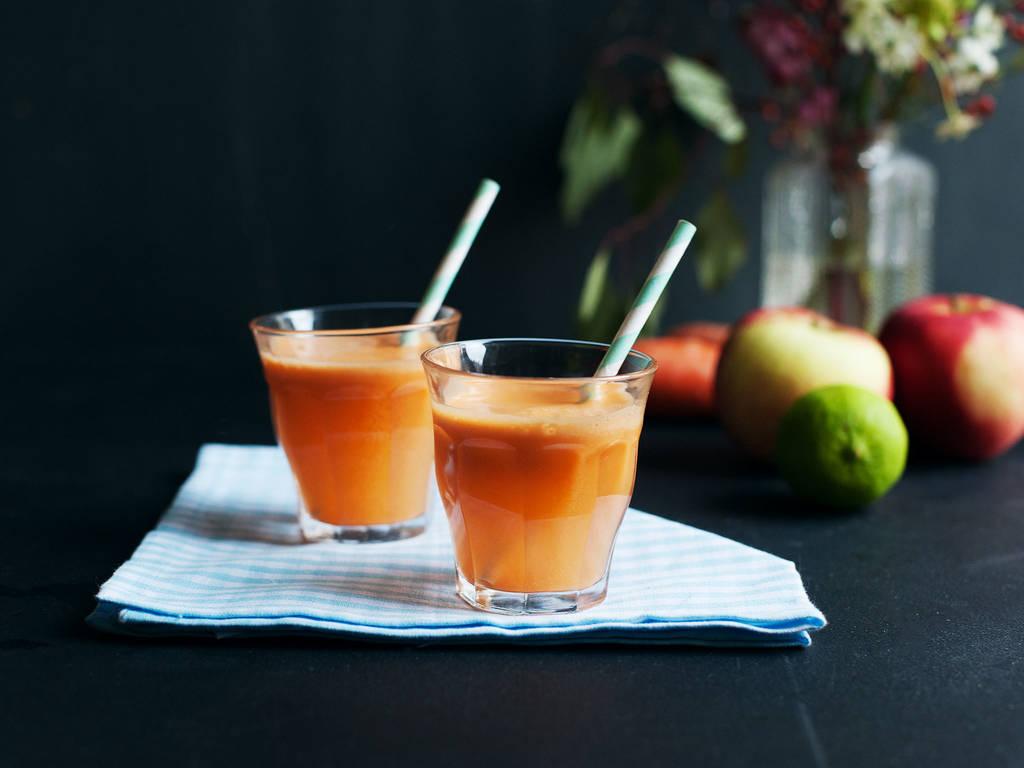 胡萝卜苹果生姜汁