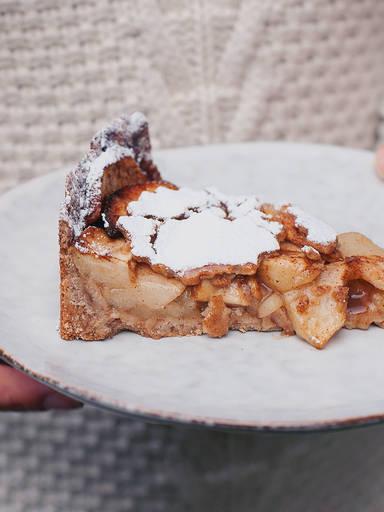 健康苹果蛋糕