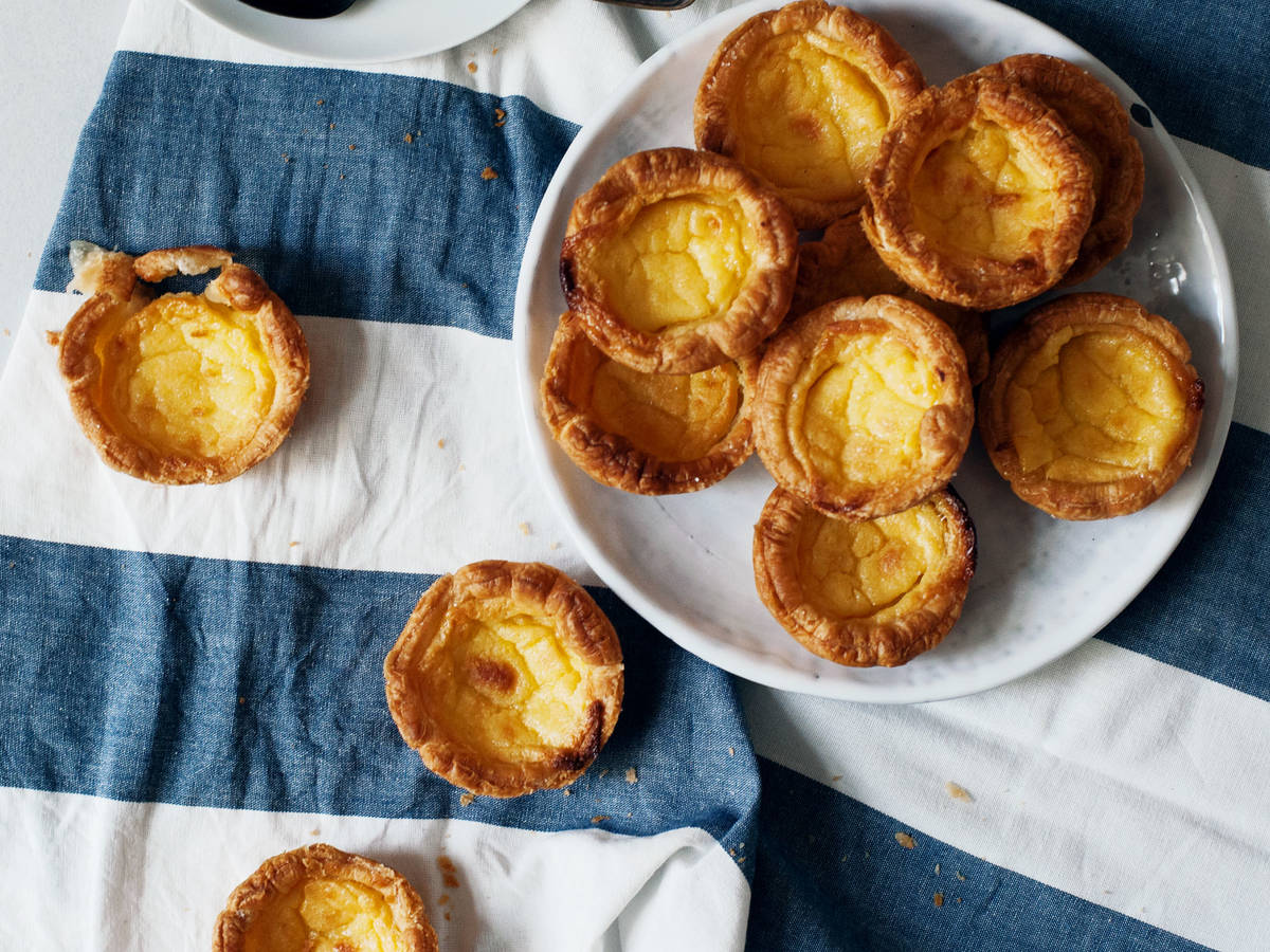 Easy Portuguese egg custard tarts