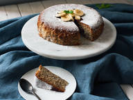 Rice cooker banana cake
