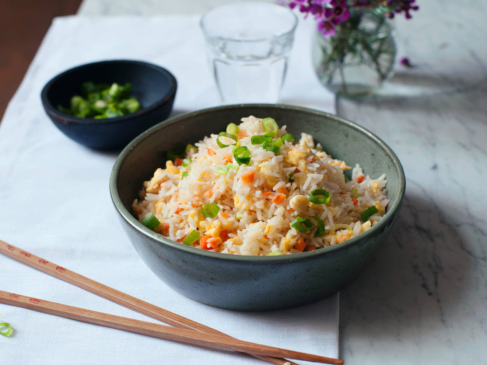 Chinese fried rice | Recipe with Video | Kitchen Stories
