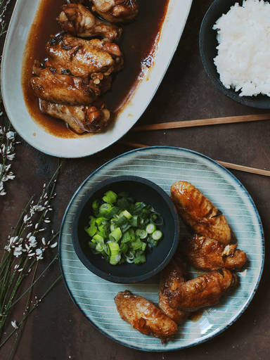Chicken-Wings mit Cola-Marinade