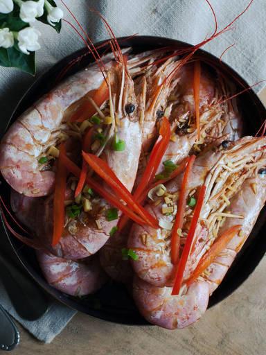 粤式白煮虾