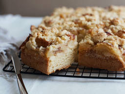 传统苹果蛋糕