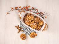Zimtschnecken mit Glasur