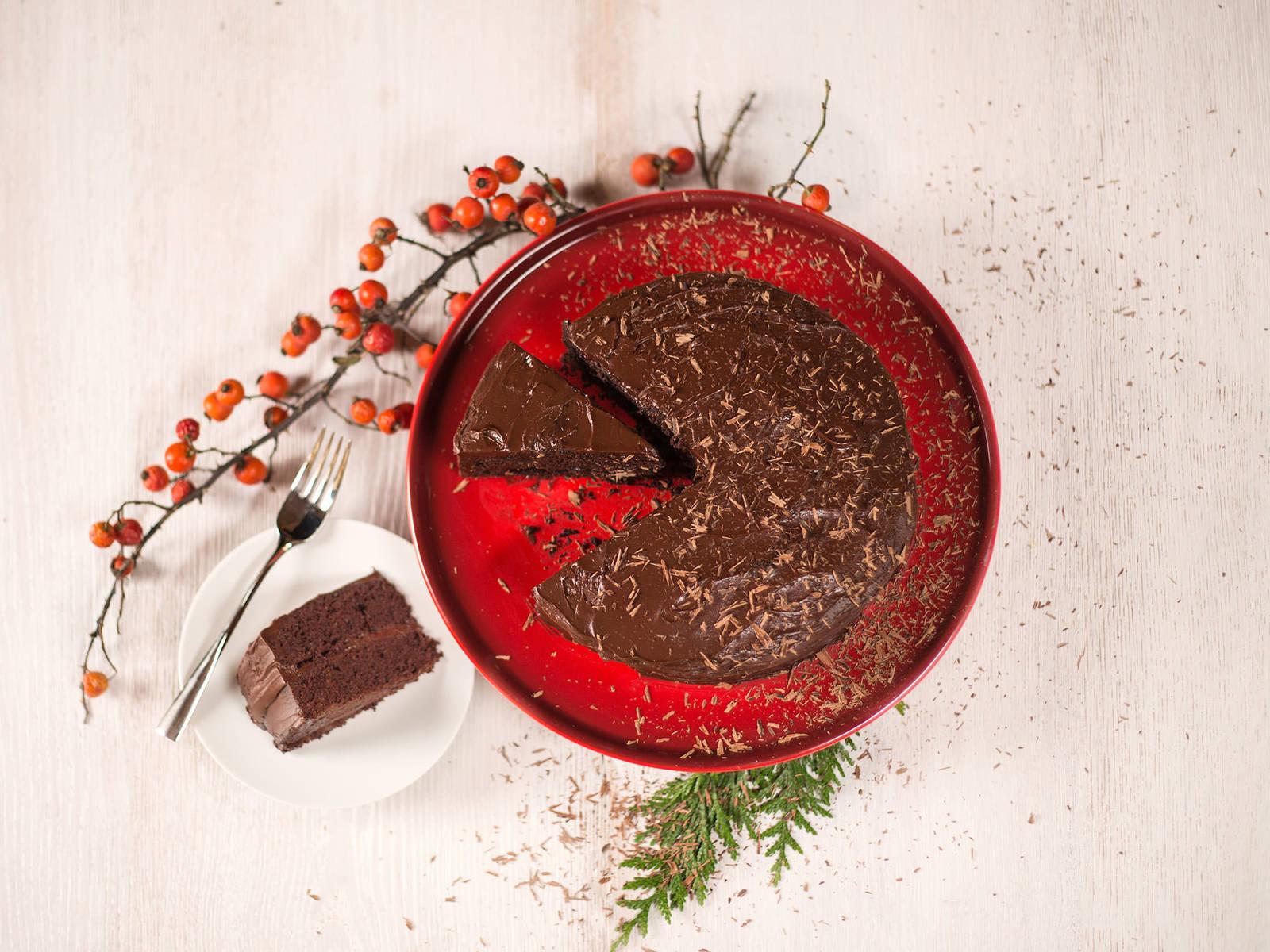 The Kitchen Devils Food Cake