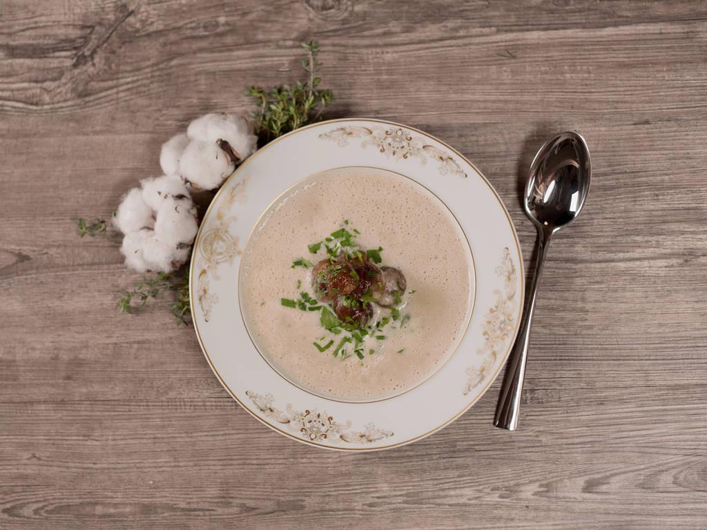 香甜的栗子汤