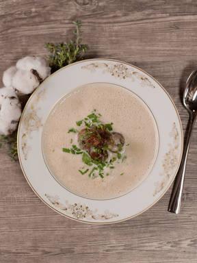 Esskastanien-Suppe