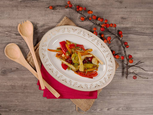 Aromatic roasted vegetables