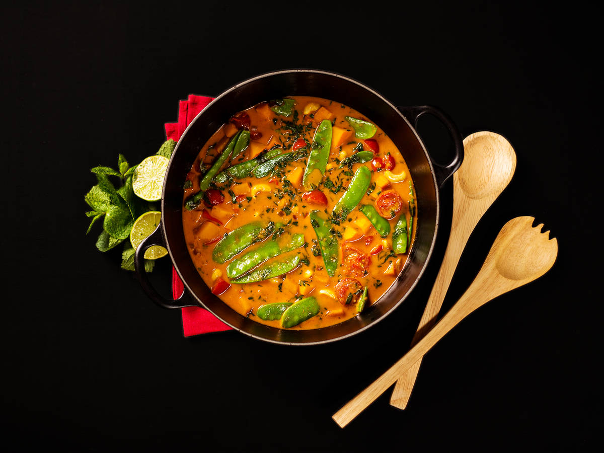 sweet potato curry - Curry Kitchen