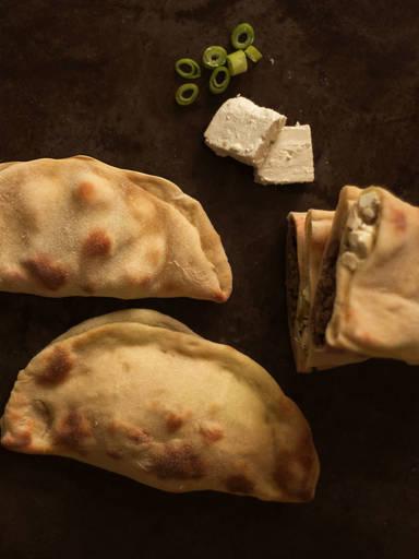 印度风味烤馅饼