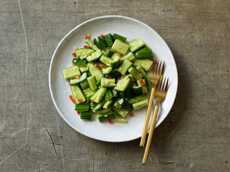 Chinesischer Gurkensalat