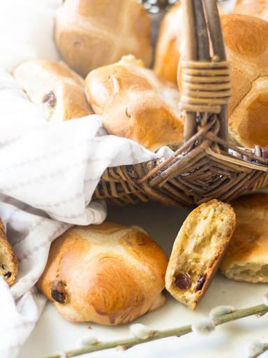 热十字面包