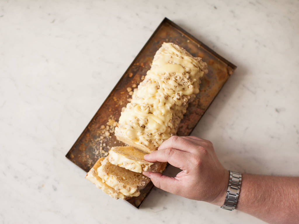 Eggnog Streuselkuchen
