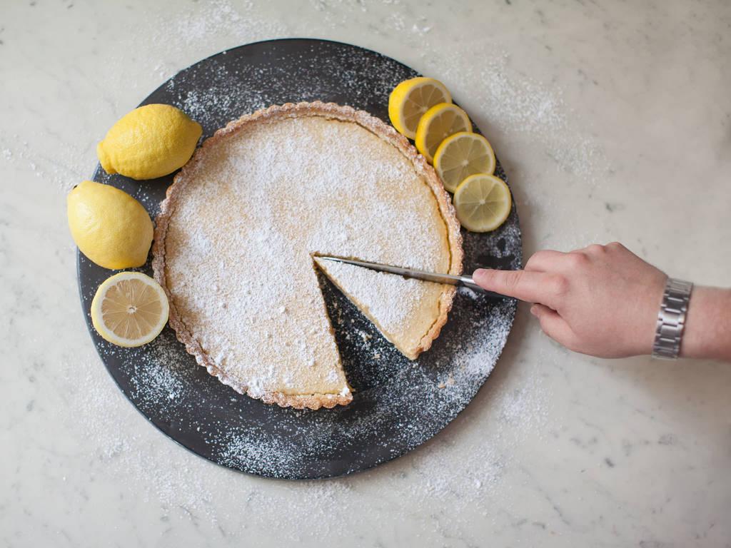 法式柠檬派