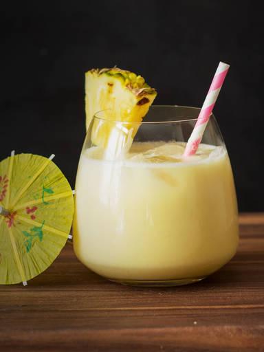 椰林飘香鸡尾酒