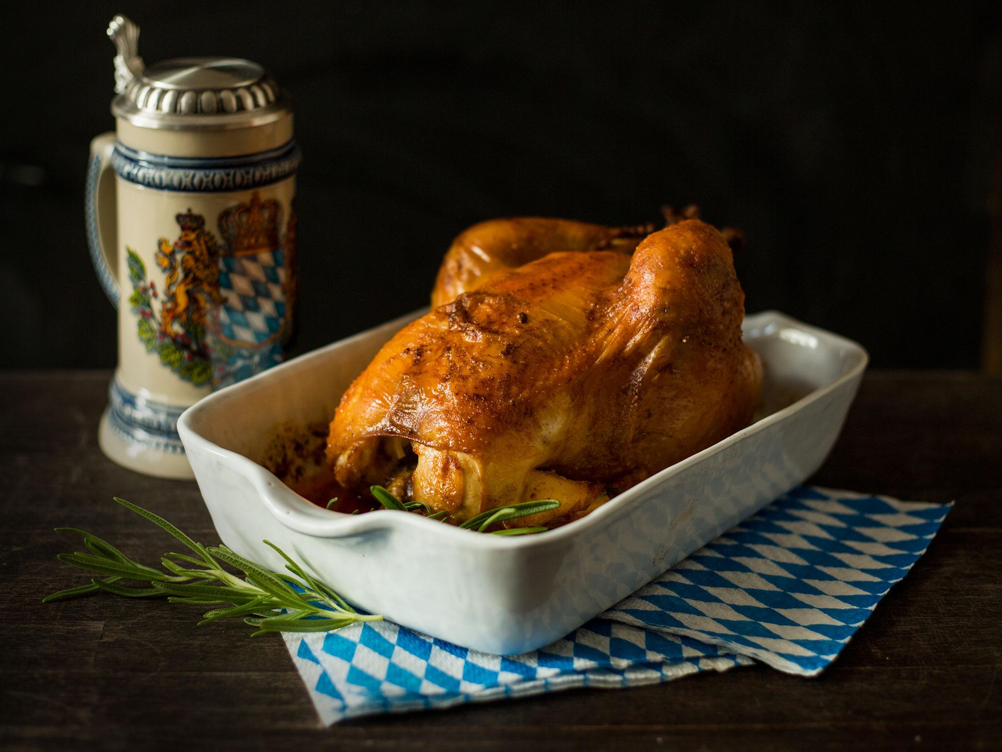 Bavarian roast chicken - Recipes - Kitchen Stories