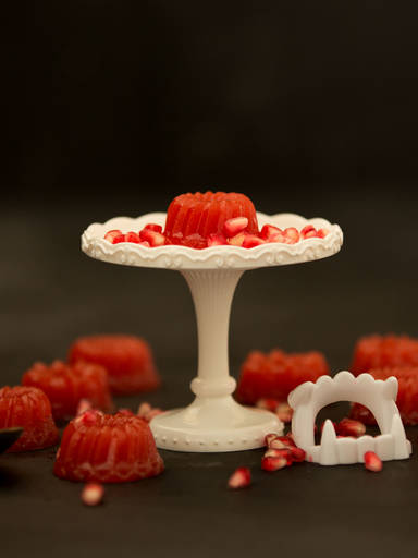 Jellies with pomegranate
