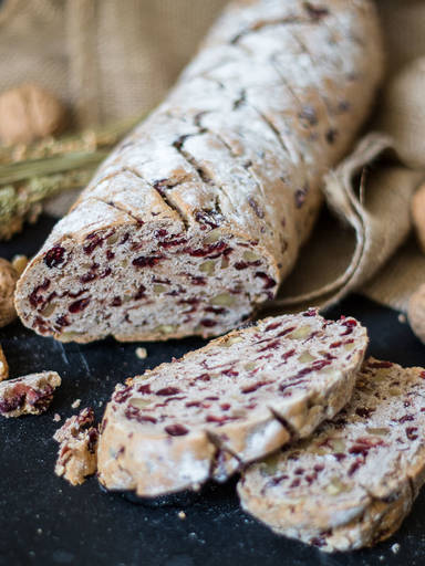 Easy fruit and nut bread