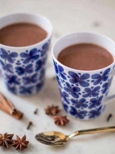 印度风味巧克力奶茶
