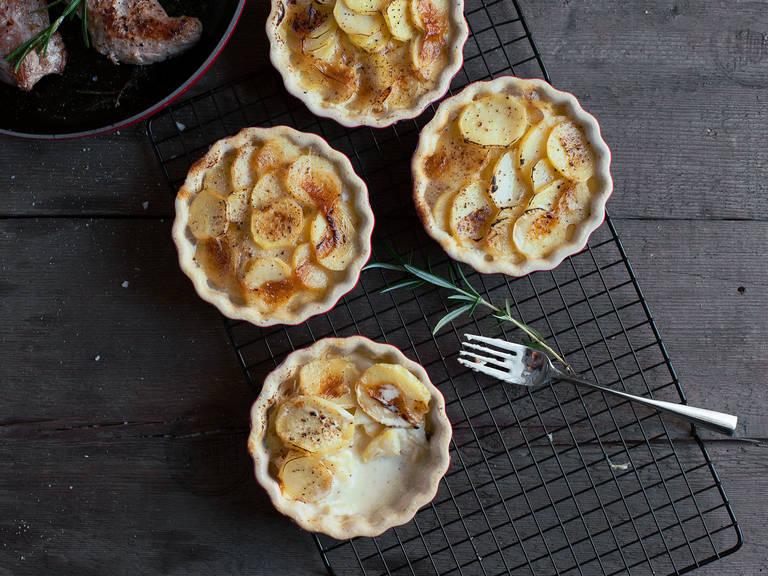 Basic potato gratin