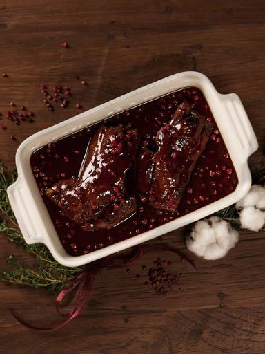 越桔酱炖鹿肉
