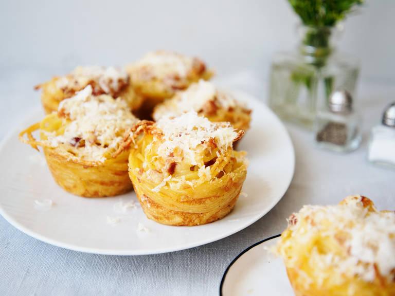 Carbonara muffins