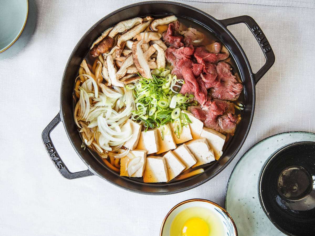 Sukiyaki (Japanese Hot Pot)