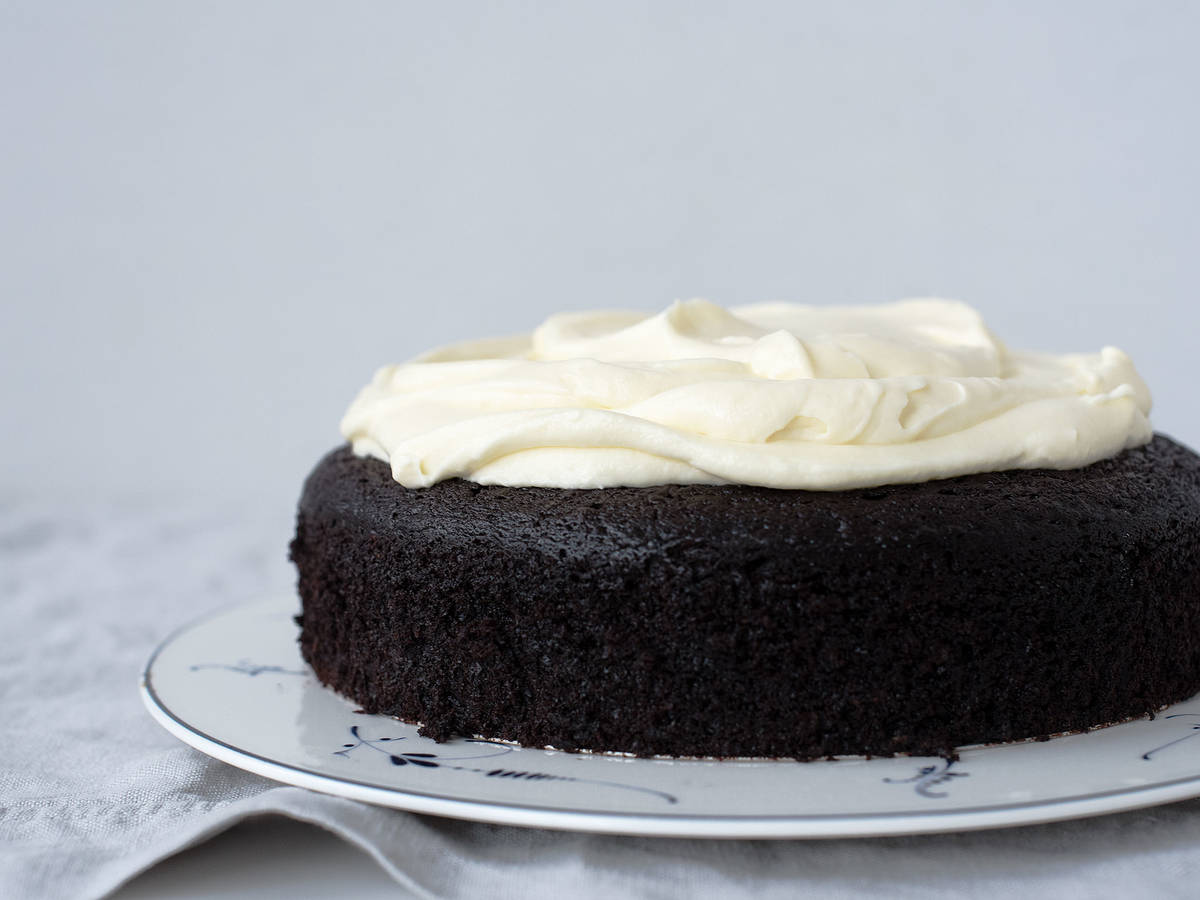Chocolate-Guinness cake