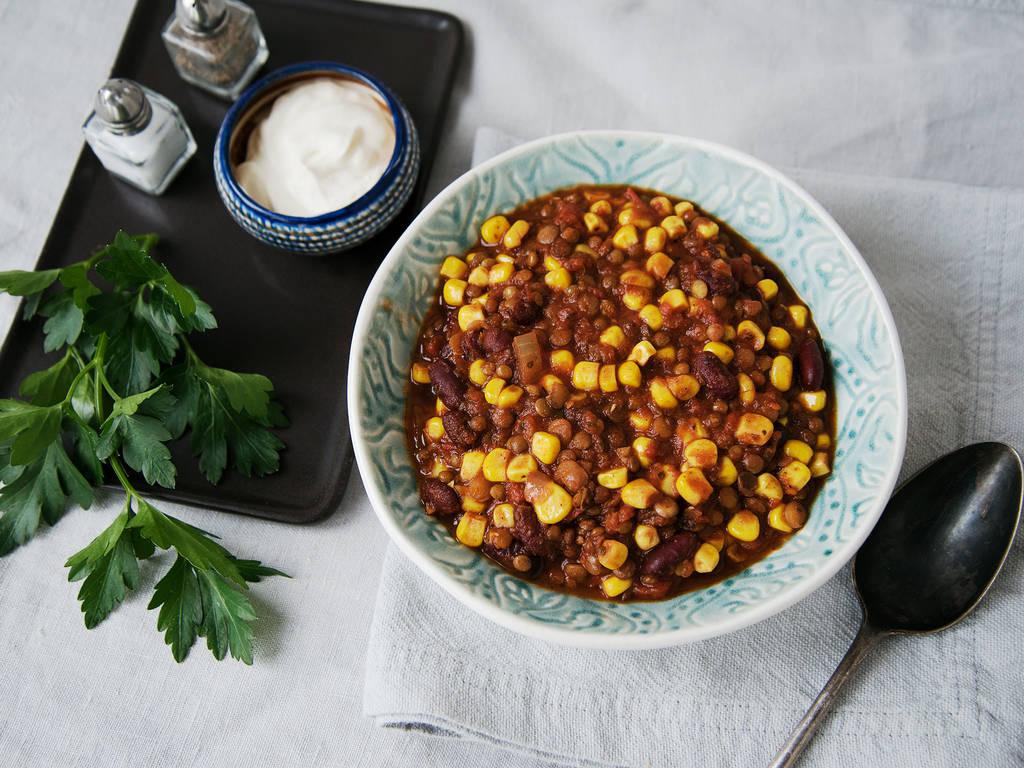 素食墨西哥辣汤
