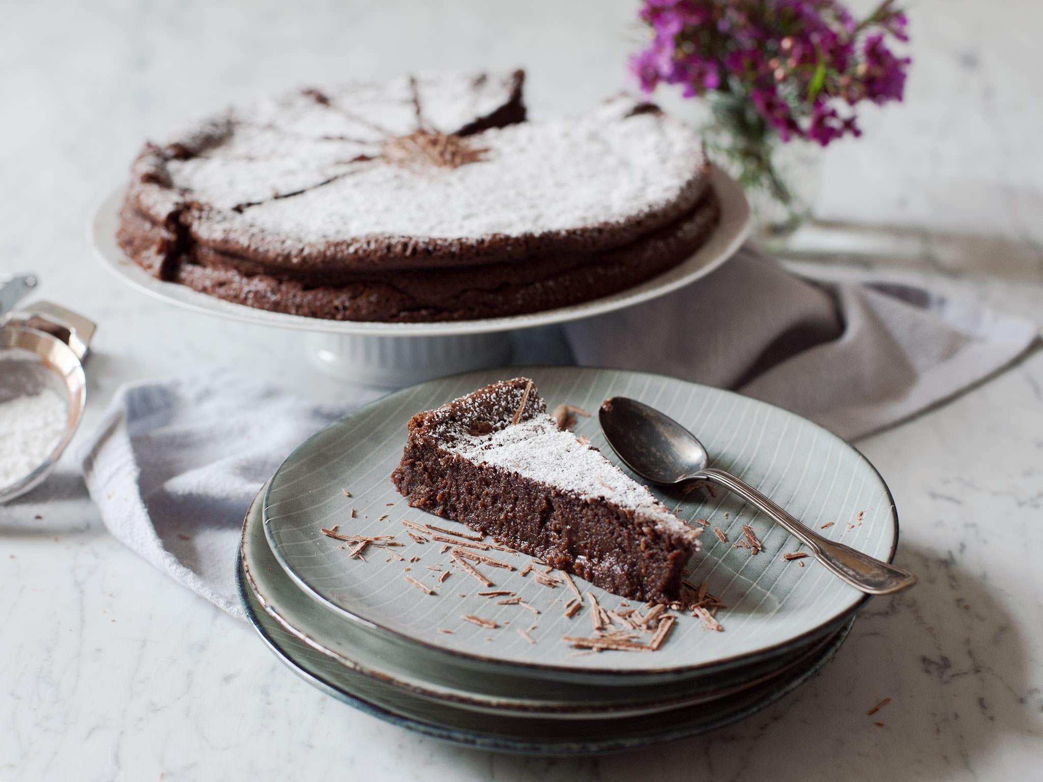 Schokoladenkuchen Ohne Mehl Rezept Kitchen Stories