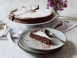 零面粉巧克力蛋糕