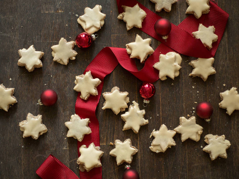Cinnamon star cookies