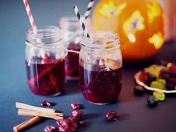 蔓越莓调味苹果酒